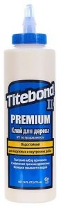 Клей для дерева TITEBOND II Transparent Premium Wood Glue 473мл
